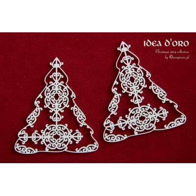 Idea d'oro nagy karácsonyfák