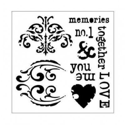 Memories stencil