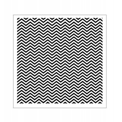 Tiny Chevron stencil
