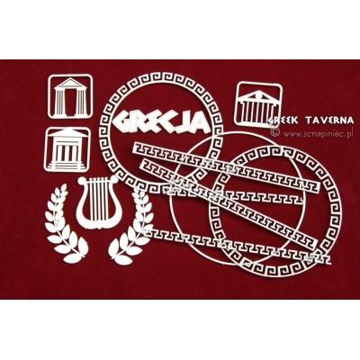 Greek Taverna - görög szimbólumok