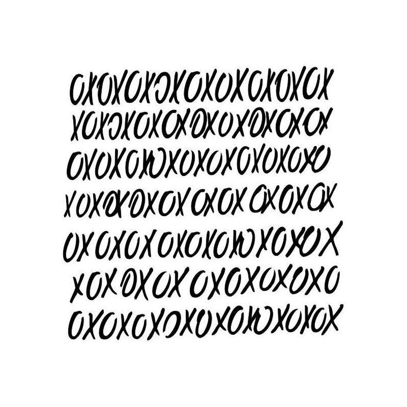 XOXO stencil