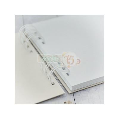 20 lapos album - 30x30 cm