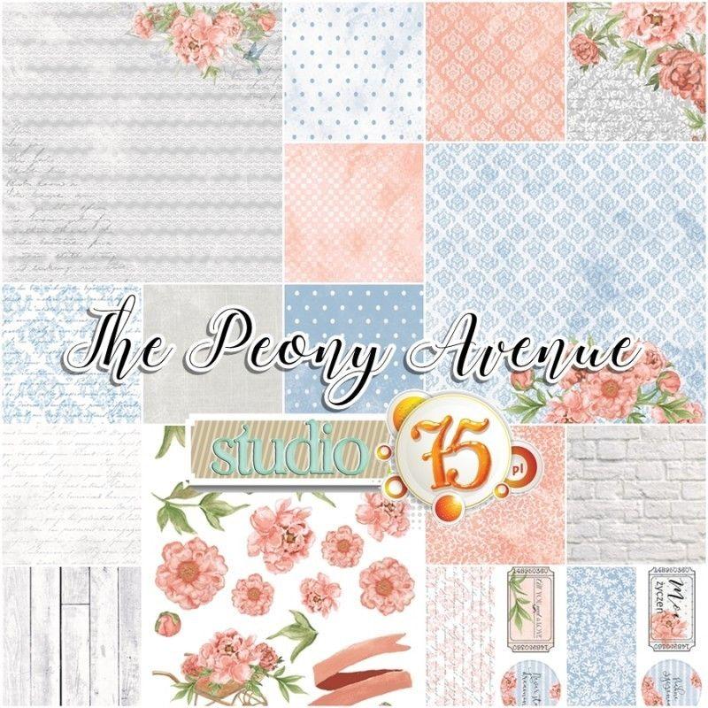The Peony Avenue kollekció - 6x6