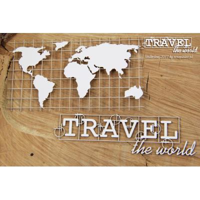 Travel the world - térkép