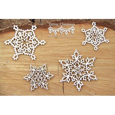 Tatting Christmas - kis csillagok