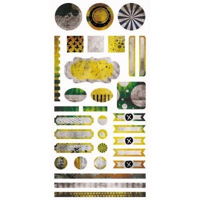 Paint Chips elem matrica 6x12