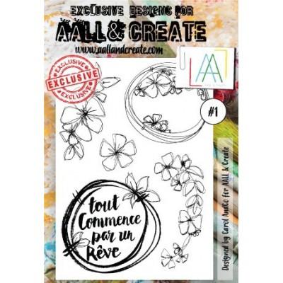 AALL and Create bélyegző szett #1