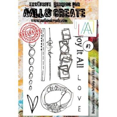 AALL and Create bélyegző szett no.2