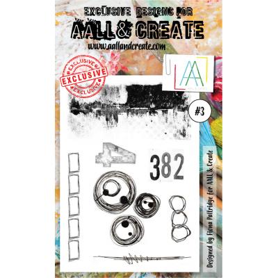AALL and Create bélyegző szett no.3