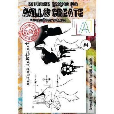 AALL and Create bélyegző szett no.4