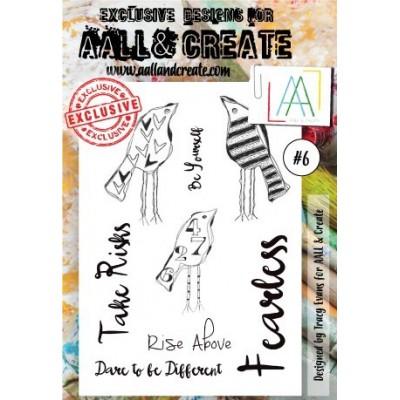 AALL and Create bélyegző szett no.6