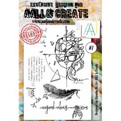 AALL and Create bélyegző szett no.7