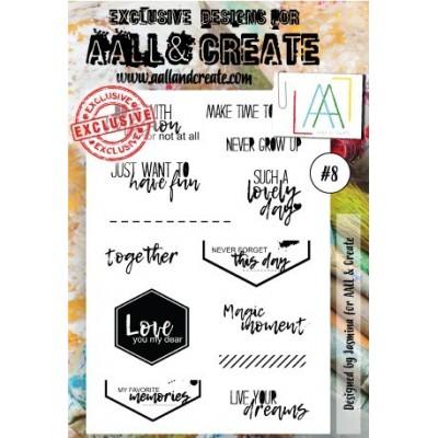 AALL and Create bélyegző szett no.8