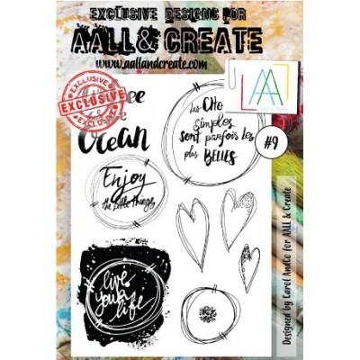 AALL and Create bélyegző szett no.9