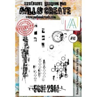 AALL and Create bélyegző szett no.10