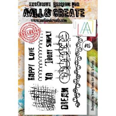AALL and Create bélyegző szett no.15