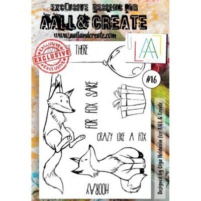 AALL and Create bélyegző szett no.16