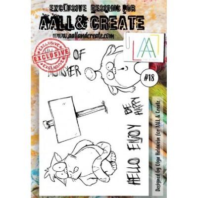 AALL and Create bélyegző szett no.18