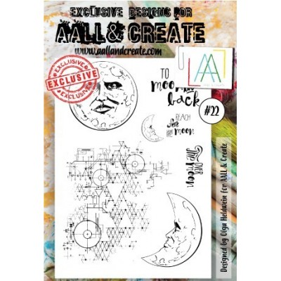 AALL and Create bélyegző szett no.22
