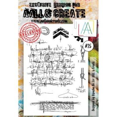 AALL and Create bélyegző szett no.25