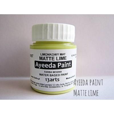 Ayeeda Matt Festék - Lime