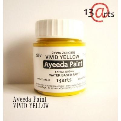 Ayeeda Élénk Festék - Sárga