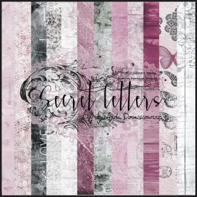 Secret Letters kollekció - 12x12