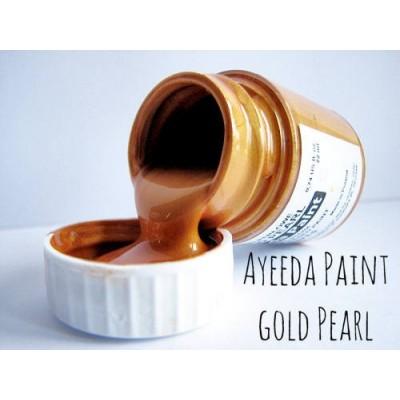 Ayeeda Gyöngyház Festék - Arany