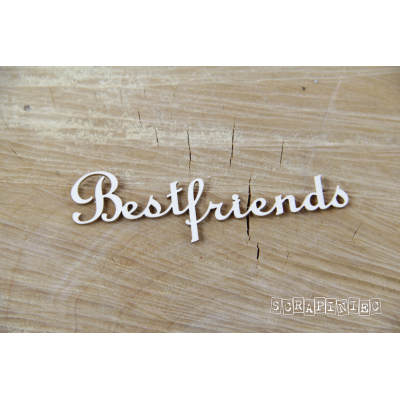 Best friends felirat (2 db-os szett)