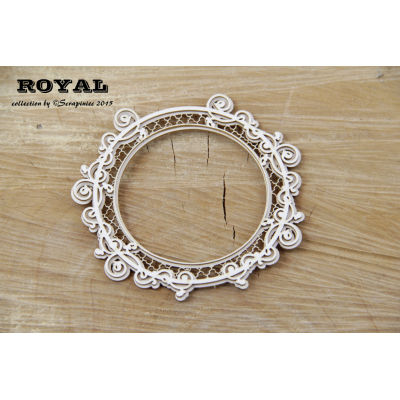 Royal kör alakú keret