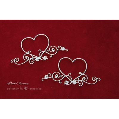 Szívek (2db) - romantikus