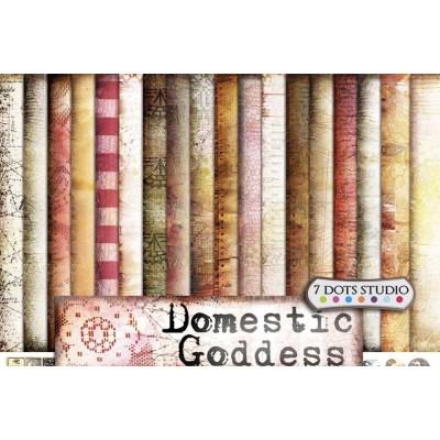 Domestic Goddess kollekció - 9 db 12x12-es papír