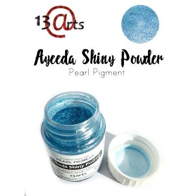 Ayeeda Selyempor - Csillámló kék