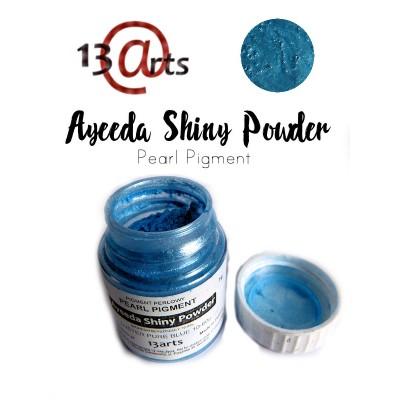 Ayeeda Selyempor - Fémes-kék