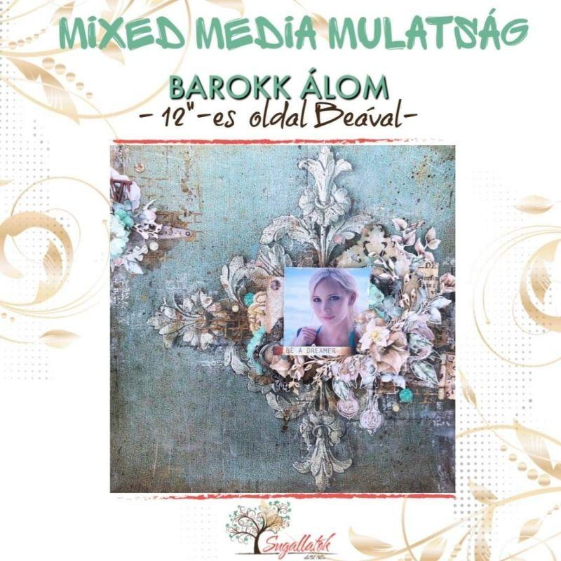 MMM alkotócsomag - Barokk álom (Bea)