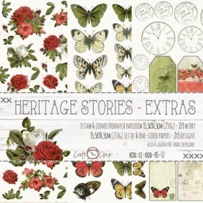 Heritage Stories kivágóív szett