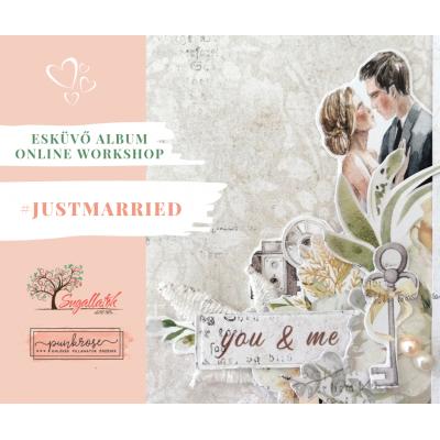 TANFOLYAM - Just Married - esküvői albumkészítés