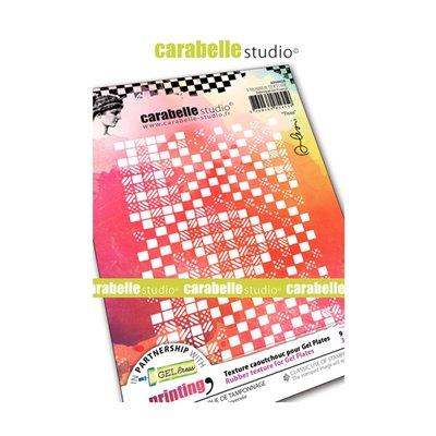Carabelle Art Printing textúra lemez Gel Press laphoz - Tissue (A6)