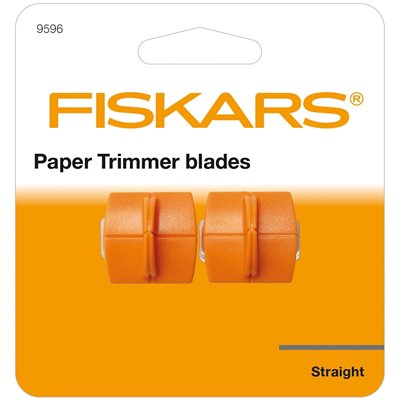 Fiskars pótpenge vágógéphez (2 db) - straight