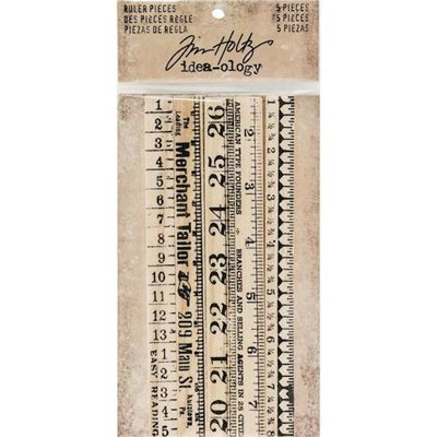 Tim Holtz Idea-ology Ruler Pieces (5 db)