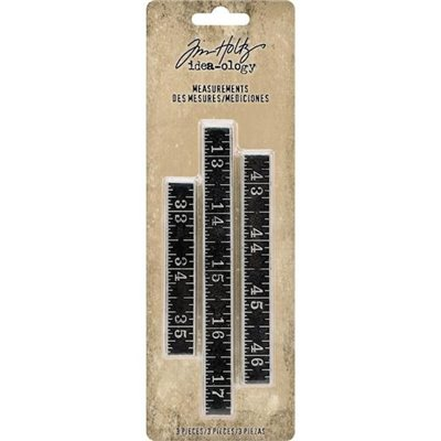 Tim Holtz Idea-ology Measurements (3 db)