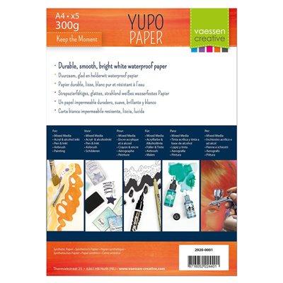 Yupo papír A4 (5 db) - fehér