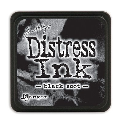 Tim Holtz Distress Ink Mini tintapárna - black soot