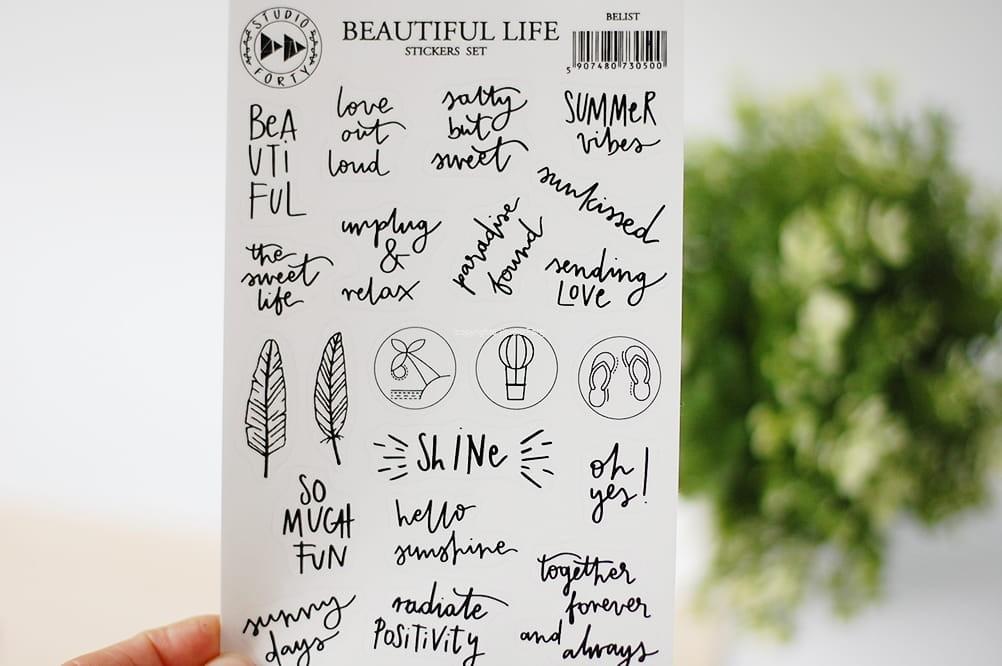 Beautiful life - fólia matrica