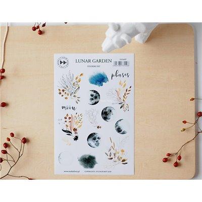 Lunar Garden - matrica szett