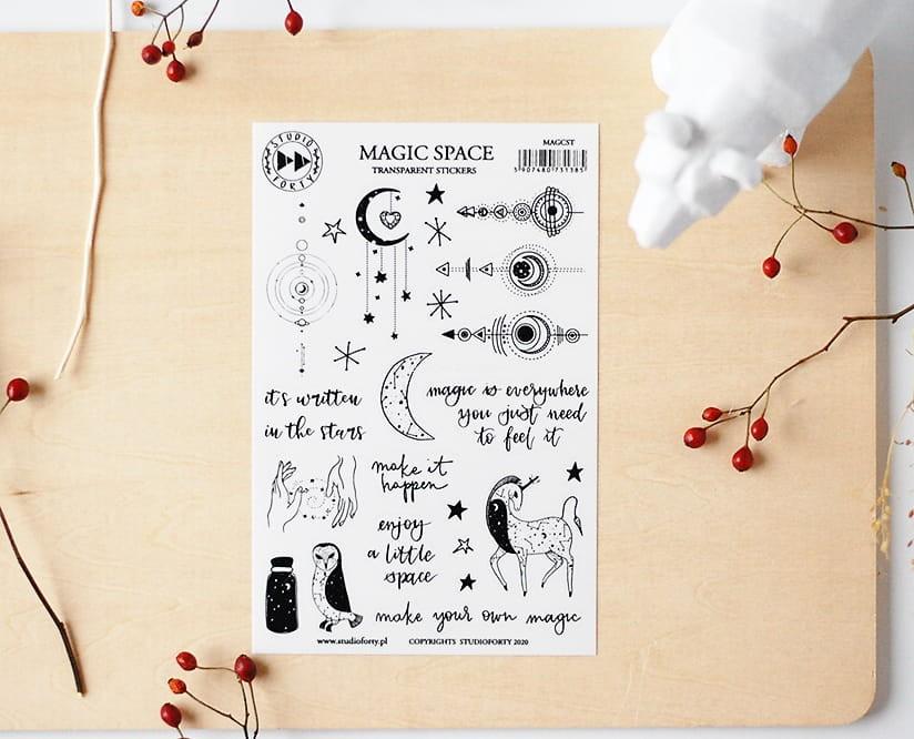 Magic space - fólia matrica