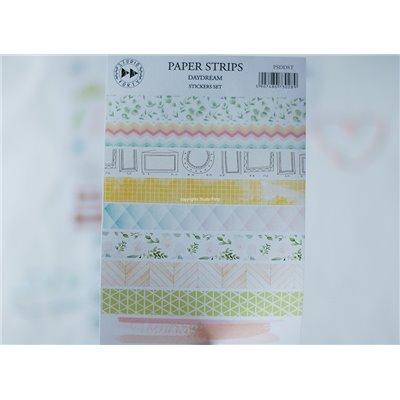 Daydream - papír csíkok - színes matrica