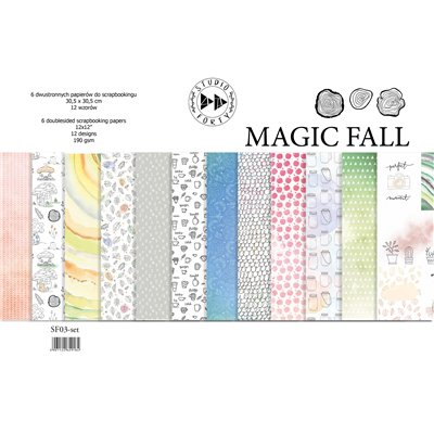 "MAGIC FALL - 12""x12""-es papírkollekció"