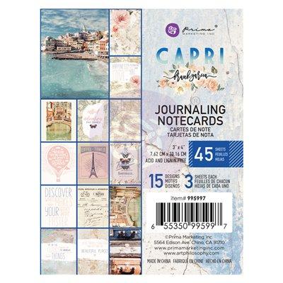 Capri kollekció 3x4 Journaling Cards