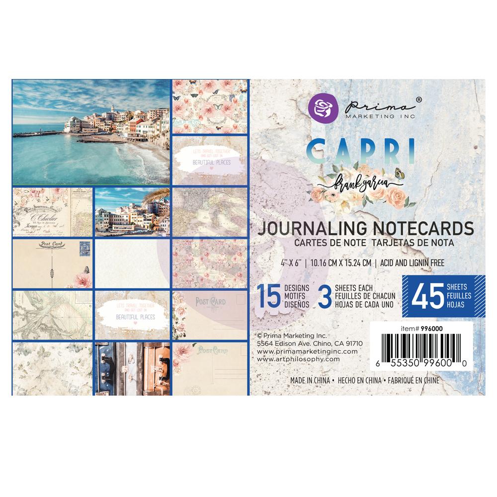 Capri kollekció 4x6 Journaling Cards